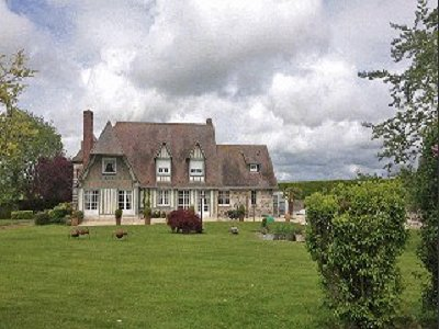 5 Bedroom French Chateau For Sale Maneglise Seine Maritime Upper Normandy