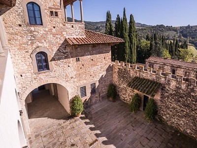 Image 12 | Luxury Castle for Sale with Vineyard in Tuscany 172662