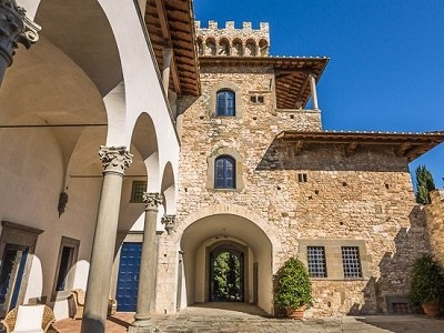 Image 9 | Luxury Castle for Sale with Vineyard in Tuscany 172662