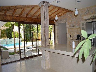 4 bedroom house for sale uzes gard languedoc roussillon for Garage uzes gard