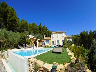 Image 5 | 4 bedroom villa for sale with 0.23 hectares of land, Ceyreste, Bouches-du-Rhone , Provence 173204