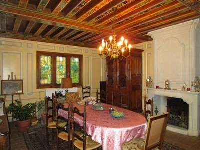 Image 8 | 3 bedroom manor house for sale with 40,000m2 of land, Le Lude, Sarthe , Loire Valley 173678