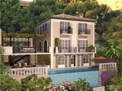 5 bedroom villa for sale, Beaulieu sur Mer, Provence French Riviera