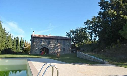 5 bedroom farmhouse for sale, Lajatico, Pisa, Tuscany