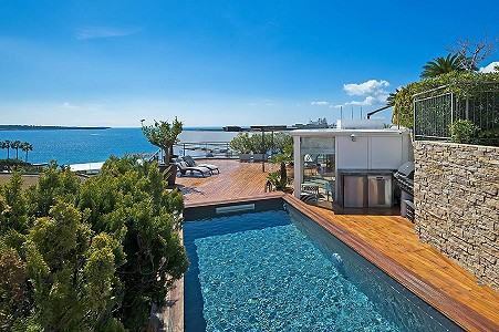 3 bedroom penthouse for sale, Croisette, Cannes, Provence French Riviera