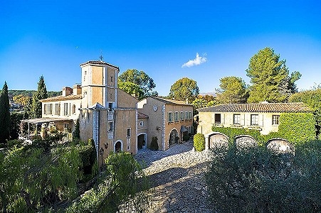 15 bedroom French chateau for sale, La Colle Sur Loup, Alpes-Maritimes, French Riviera