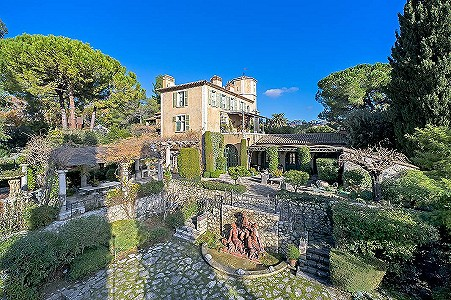 Image 7 | 15 bedroom French chateau for sale with 1.06 hectares of land, La Colle Sur Loup, Alpes-Maritimes 6, French Riviera 177711