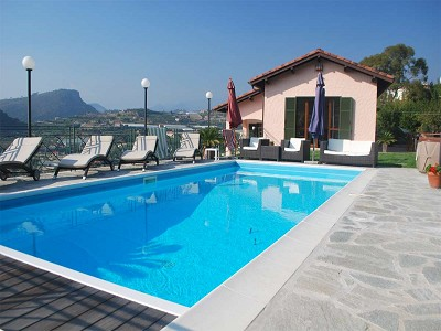 Image 3 | 4 bedroom villa for sale with 2,000m2 of land, Bordighera, Imperia, Liguria 178300