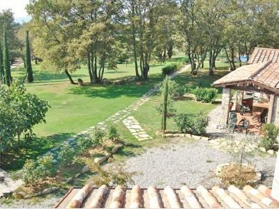 Image 5 | Farmhouse and gite complex in Montegabbione, Umbria for sale with land 179557