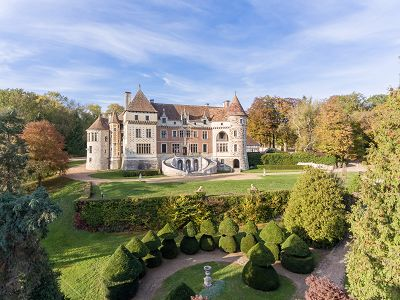 18 bedroom French Chateau for sale, 1 hour drive West of Paris