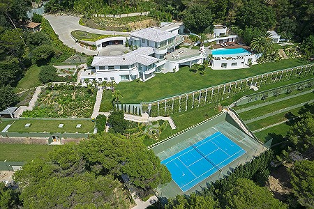Image 11 | 18 bedroom villa for sale with 1.38 hectares of land, Californie, Cannes, French Riviera 179847