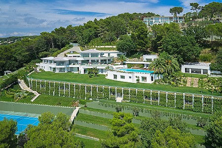 Image 12 | 18 bedroom villa for sale with 1.38 hectares of land, Californie, Cannes, French Riviera 179847