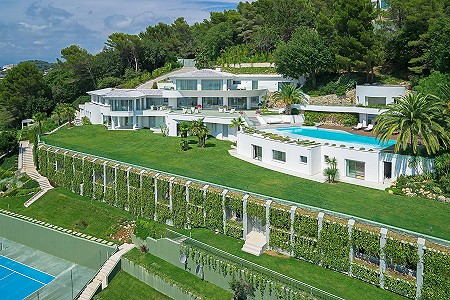 Image 2 | 18 bedroom villa for sale with 1.38 hectares of land, Californie, Cannes, French Riviera 179847