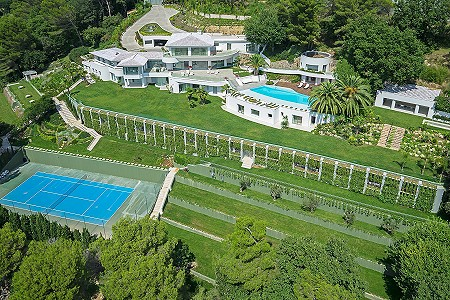 Image 4 | 18 bedroom villa for sale with 1.38 hectares of land, Californie, Cannes, French Riviera 179847