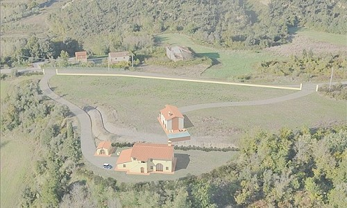 Image 5 | House for sale with 4.07 hectares of land, Castelfalfi, Florence, Chianti 180013