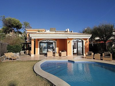 6 bedroom villa for sale, Paseo Maritimo, Santa Ponsa, South Western Mallorca, Mallorca