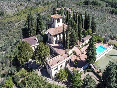 12 bedroom villa for sale, Florence, Chianti