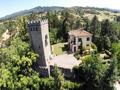 Two villas in the countryside near Florence