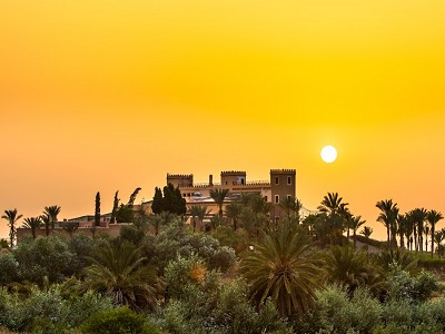 Moroccan Castle now a Luxury Hotel and Spa for sale near Marrakech