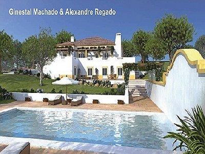 Image 2 | 4 bedroom villa for sale with 0.52 hectares of land, Quintas de Obidos Golf, Vau, Leiria District, Costa de Prata Silver Coast 181497