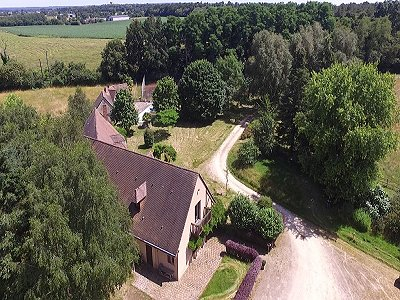 Image 3 | 7 bedroom farmhouse for sale with 54 hectares of land, Le Lude, Sarthe , Loire Valley 181713
