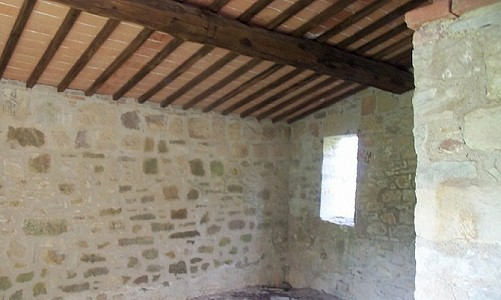 Image 3 | Farmhouse for sale with 6.8 hectares of land, Radicondoli, Siena, Tuscany 182173
