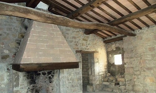 Image 4 | Farmhouse for sale with 6.8 hectares of land, Radicondoli, Siena, Tuscany 182173