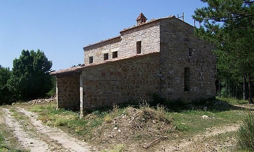 Image 5 | Farmhouse for sale with 6.8 hectares of land, Radicondoli, Siena, Tuscany 182173