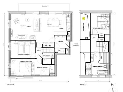 Image 16 | Luxury 3 Bed Duplex Apartment for Sale in Meribel Les Allues 182281