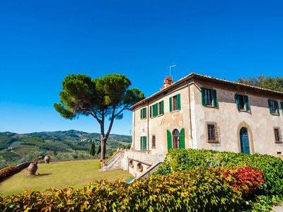 Historic Tuscan Residence in Greve in Chianti for Sale