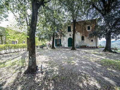 Image 10 | Historic Tuscan Residence in Greve in Chianti for Sale 182920