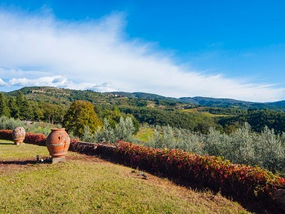 Image 13 | Historic Tuscan Residence in Greve in Chianti for Sale 182920