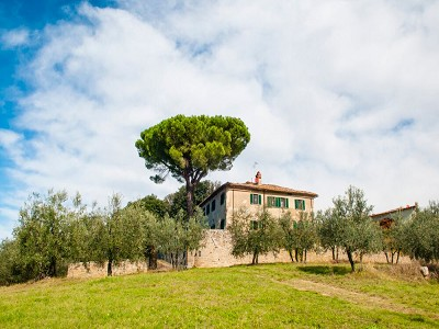 Image 3 | Historic Tuscan Residence in Greve in Chianti for Sale 182920