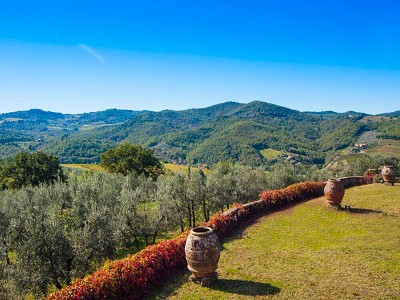 Image 5 | Historic Tuscan Residence in Greve in Chianti for Sale 182920