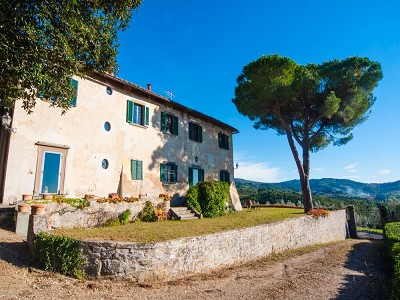 Image 6 | Historic Tuscan Residence in Greve in Chianti for Sale 182920