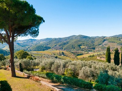 Image 8 | Historic Tuscan Residence in Greve in Chianti for Sale 182920