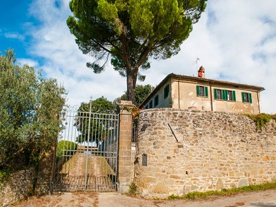 Image 9 | Historic Tuscan Residence in Greve in Chianti for Sale 182920