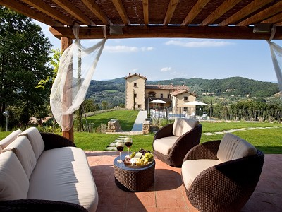 Image 2 | 9 bedroom farmhouse for sale with 10 hectares of land, Florence, Chianti Wine Region 183407
