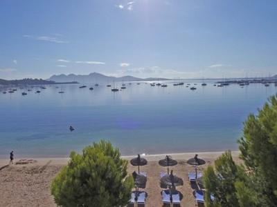Potential for beach front development in Puerto de Pollenca