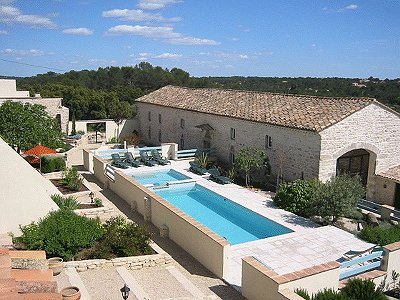 14 bedroom farmhouse for sale, Nimes, Gard, Languedoc-Roussillon
