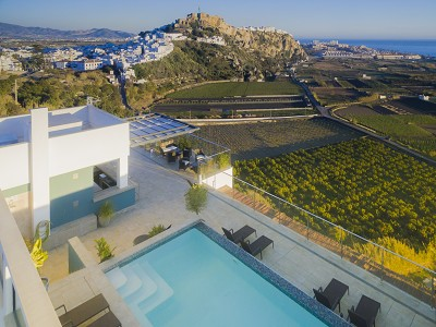 Newly Built  Boutique Hotel in Granada with 8 bedrooms and Fabulous Sea Views