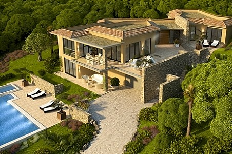 5 bedroom house for sale, Grimaud, French Riviera