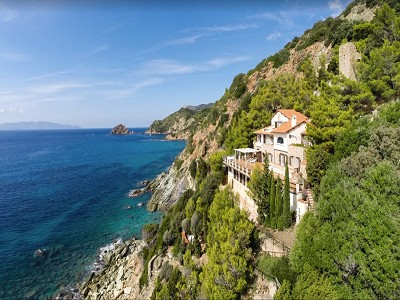 Most impressive villa in outstanding location on Mont Argentario