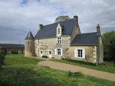 Image 21 | 6 bedroom French chateau for sale with 6 hectares of land, La Chartre sur le Loir, Sarthe , Loire Valley 185637