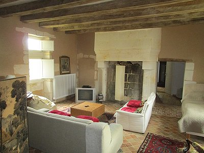 Image 8 | 6 bedroom French chateau for sale with 6 hectares of land, La Chartre sur le Loir, Sarthe , Loire Valley 185637