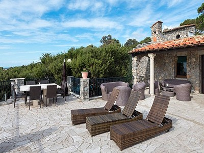 Image 5 | 11 bedroom villa for sale with 0.57 hectares of land, Ansedonia, Orbetello, Grosseto, Tuscany 185660