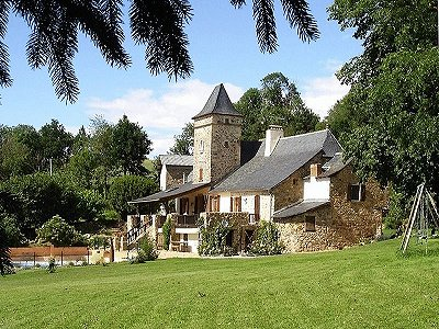 4 bedroom manor house for sale, Najac, Aveyron, Midi-Pyrenees