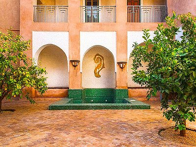 Historic Riad Hotel for Sale in Marrakech, Morocco, close to the Royal Palace, with 7 Bedrooms.