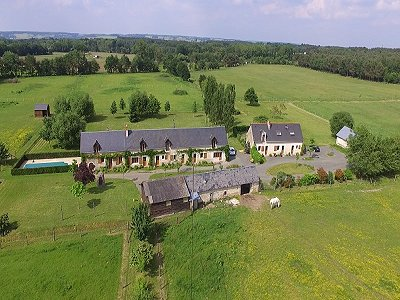 6 bedroom house for sale, Le Lude, Sarthe, Loire Valley