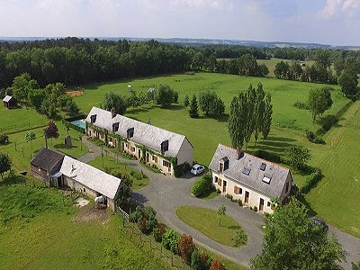Image 4 | 6 bedroom house for sale with 16 hectares of land, Le Lude, Sarthe , Loire Valley 186655